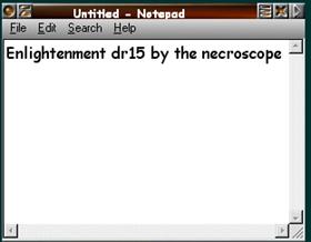 Enlightenment dr15