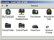 Dark Side of IZA