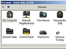 Dark Side of IZA