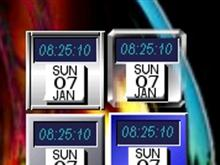 NeXTish Clock/Calendar