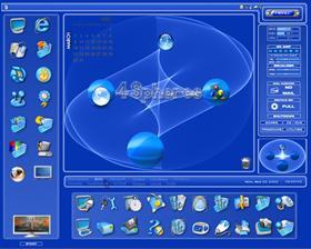 4 Spheres 1280