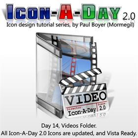 Icon-A-Day 2.0, Day 14, Video Folder