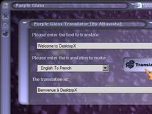 Purple Glass - Translation Module