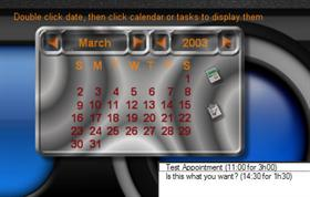 DXScript Outlook Calendar Demo