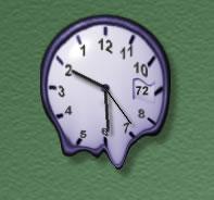 UltraBackwards Clock