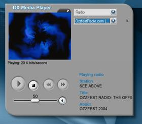DX for WMPlayer