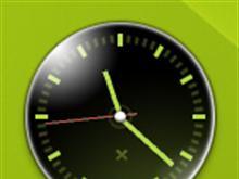 Slow Burn Clock Gadget