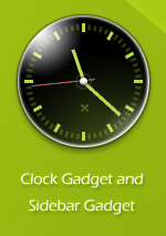 Slow Burn Clock Gadget