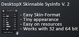 DX Skinnable SysInfo V 2