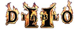 Diablo 2 Flaming Logo