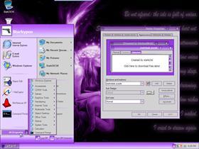 StarkDESKXP Purple