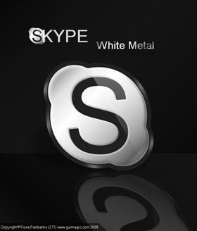 Skype WhiteMetal