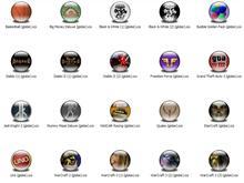 Games 1 XP Icons (Globe)