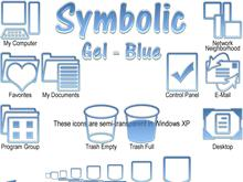 Symbolic - Gel Blue 9x