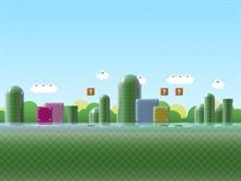 Super Mario Brothers Landscape