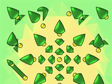 Triangles APB Green