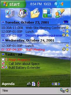 Default Windows XP
