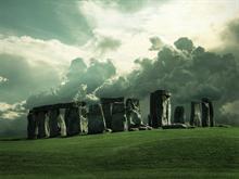 Stonehenge II by night-fate