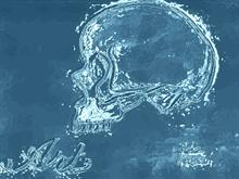 Glass Skull by johnbanana