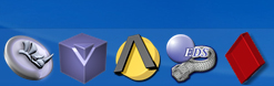 CAD/CAE Application icons