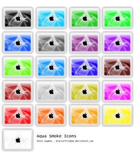 Aqua-Smoke Icons