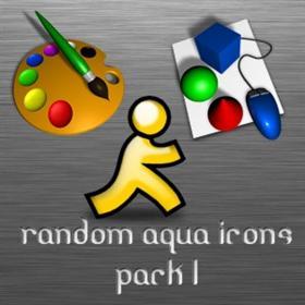 Random Aqua Icons pack 1