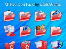 XP Red Icon Pack