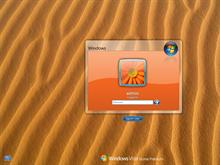 Splash Orange LogonVista
