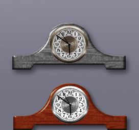 executive mantle clocks