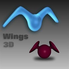 Wings 3D Icon Set