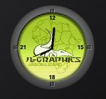 JL-Graphics Clock
