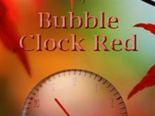 Bubble Clock Red v.3