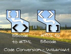 Code Conversion Html BBcode