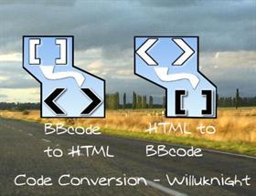 Code Conversion Html BBcode