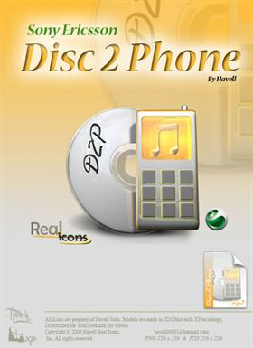 Sony Ericsson Disc2Phone