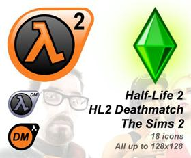 HL2, HL2DM, Sims2