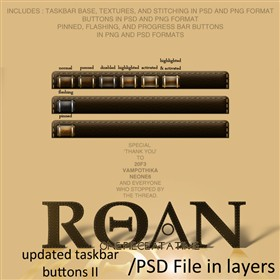 Roan Updated Taskbar and Buttons II