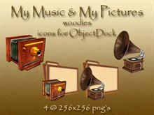 My Pictures & My Music (Woodies) for OD