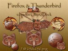 Firefox & Thunderbird (woodies) for OD
