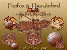 Firefox & Thunderbird (woodies) for OD