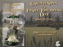 Troll Thumping Day Countdown