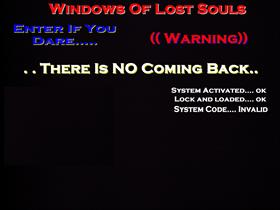windows of lost souls