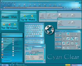 Cyan Clear