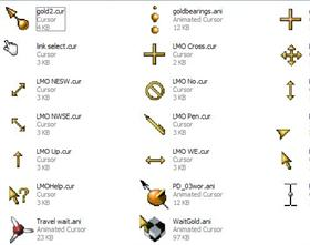 My Gold Cursors
