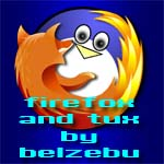Firefox And Tux