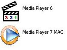 Classic Media Player Icons