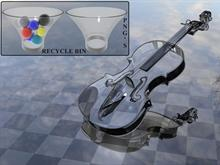 Glass Recycle bin PNG
