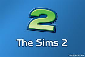The Sims 2 '2' icon