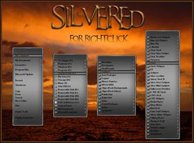 Silvered