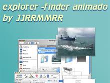 explorer finder animated